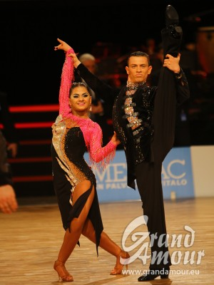 Artyom Liaskovsky & Liana Odikadze, Champions of the World, WDSF Adults under 21