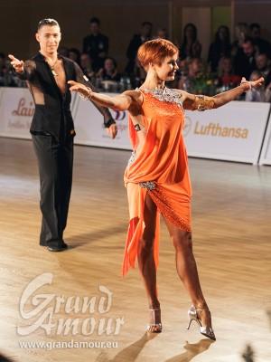 Timur Imametdinov & Nina Bezzubova, finalists of WDSF World Championships